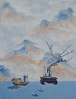 隔江山色 ——对于山水传统的遥望