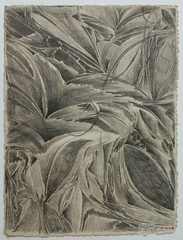 康海涛 无题 61X82cm 铅笔素描 2011