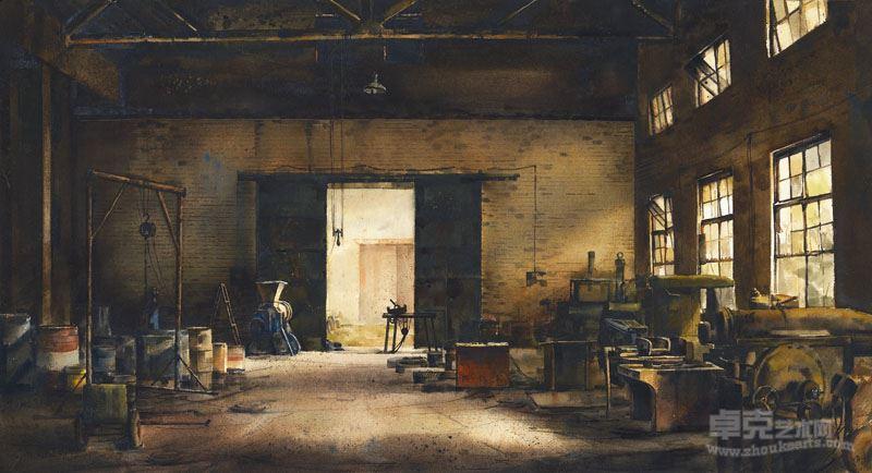 老厂房 高哲 西安美术学院